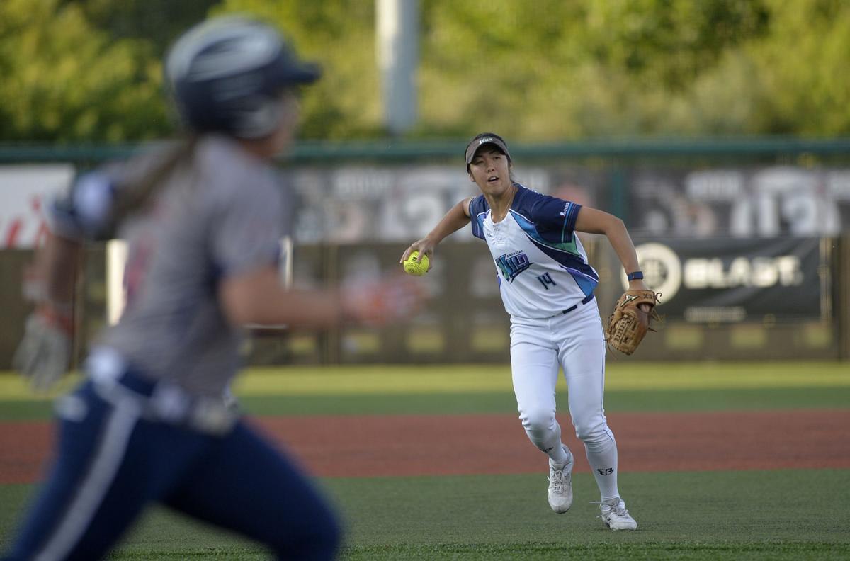 Canadian Wild shortstop Janet Leung