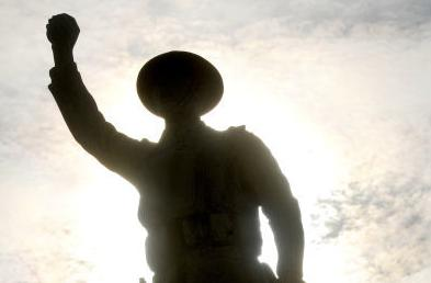 Herrin Doughboy committee inches closer to funding for restoration - Please turn images on