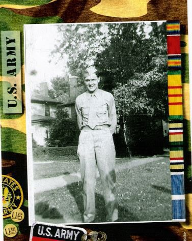 U.S. Army Sgt. Robert Morrow during WWII