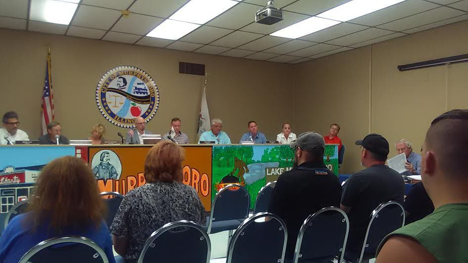 Murphysboro City Council discusses BLIP Network cabling on water tower contract