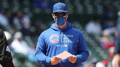 Cubs manager David Ross