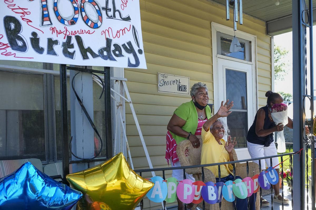Cairo celebrates Mother Seavers' 100th birthday