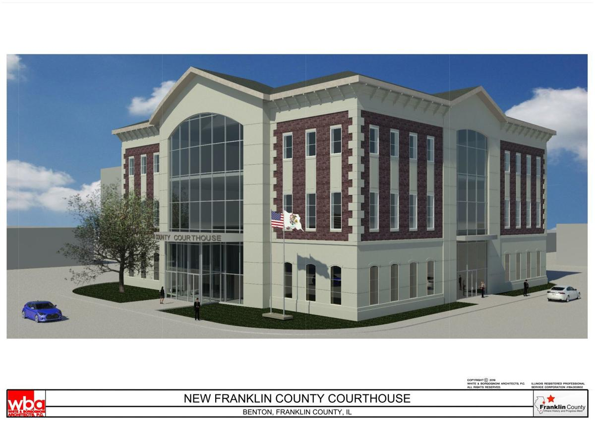 Franklin County Courthouse rendering