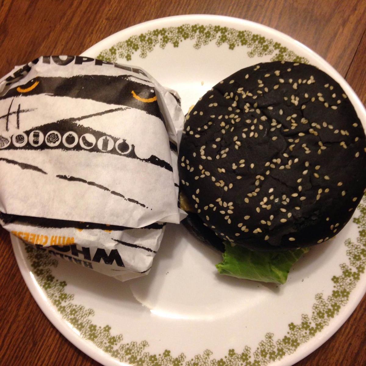 Taste test: I ate Burger King's spooky Halloween Whopper | Tangled ...