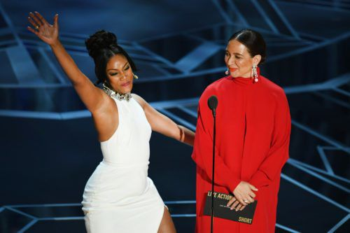 This Is The Funny Backstory Behind The White Dress Comedian Tiffany Haddish Keeps Wearing Everywhere