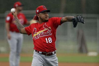 Cardinals Martinez Baseball
