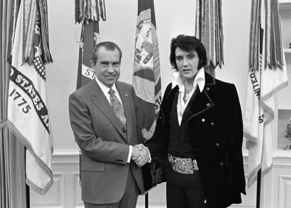 Iconic presidential photos from the year you were born