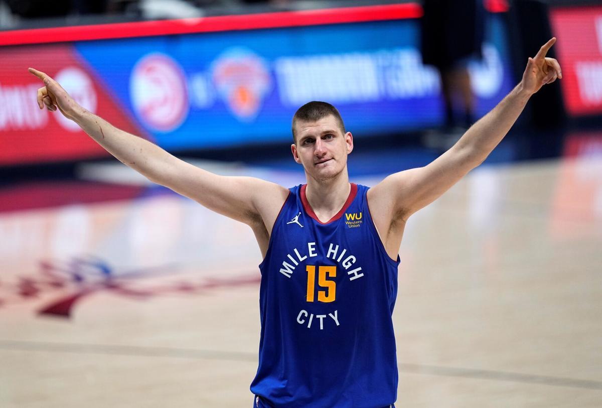 APTOPIX Trail Blazers Nuggets Basketball
