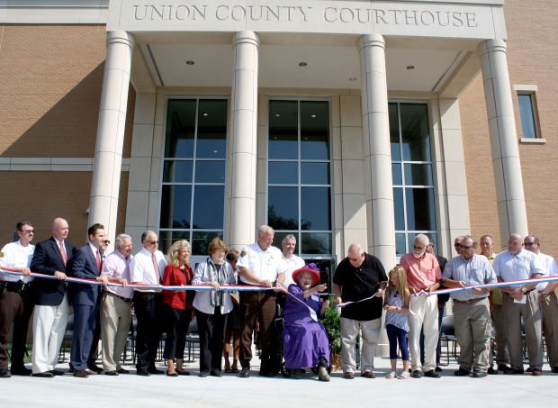 COURTHOUSE DEDICATION
