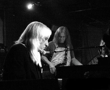 Gibula with Grateful Dead keyboardist