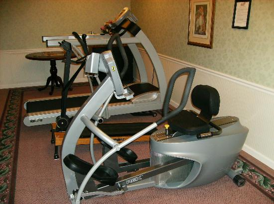 Exercise equipment available for resident use