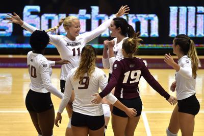 SIU volleyball defeats Southeast Missouri State