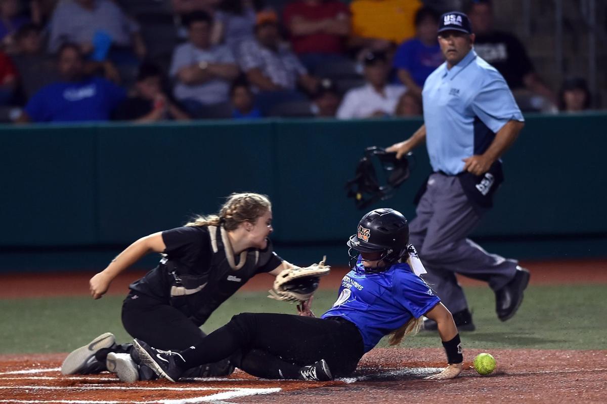 Blue Team blasts Black Team at prep softball Select All-Star