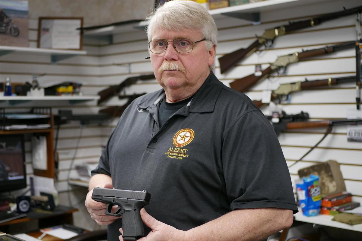 Gun shop owner