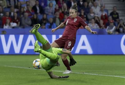 APTOPIX France England Argentina WWCup Soccer