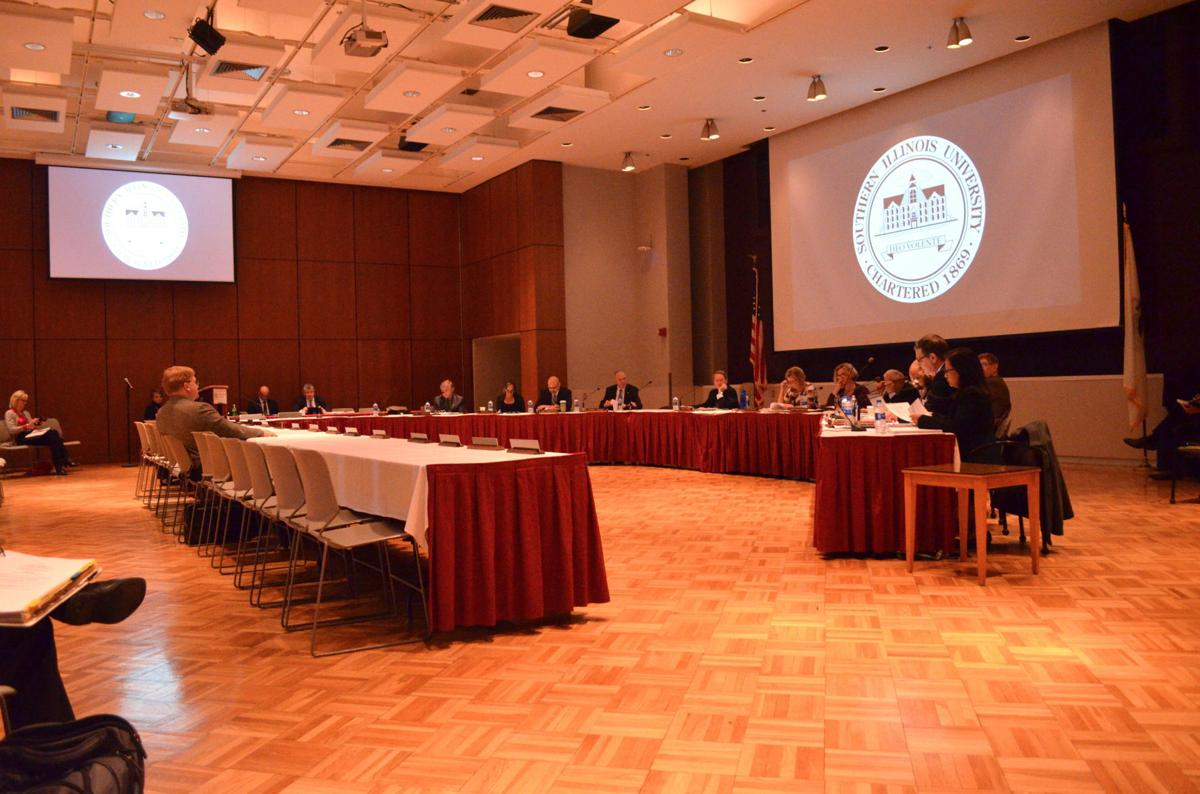 Board of Trustees meeting SIU Carbondale