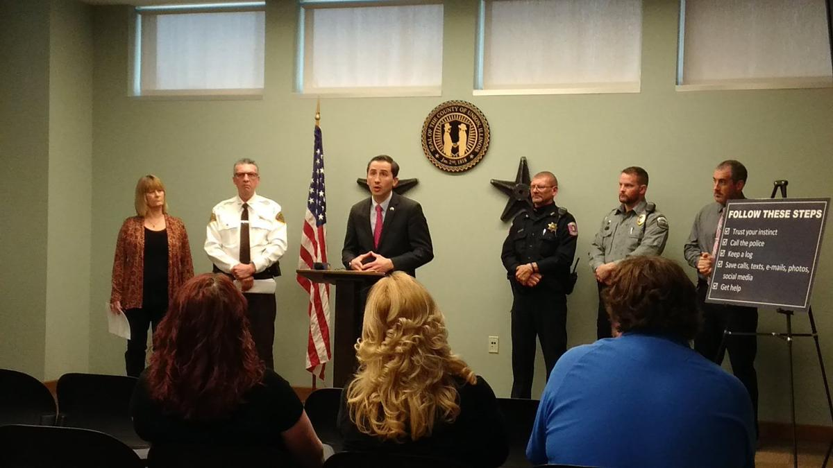 Union County conference on Stalking Awareness Month