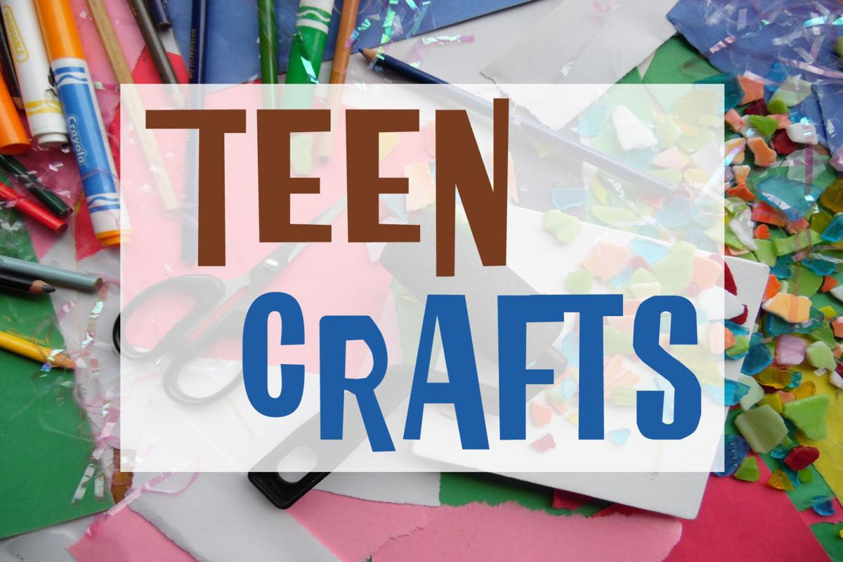 Teen Craft Night on Wednesdays