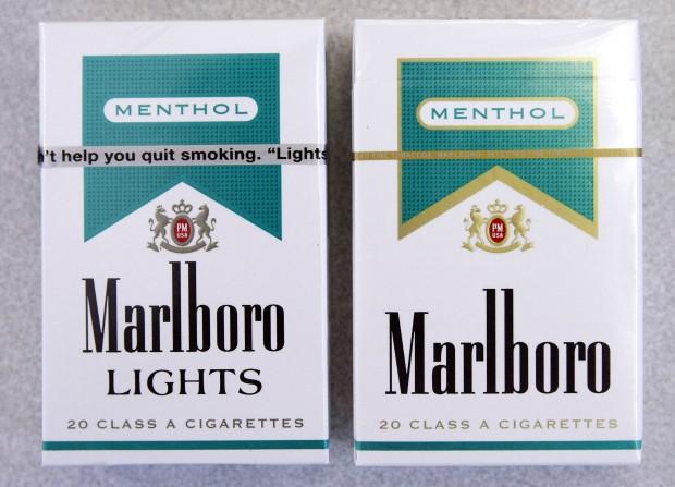 Cigarettes Marlboro brands sold in Colorado