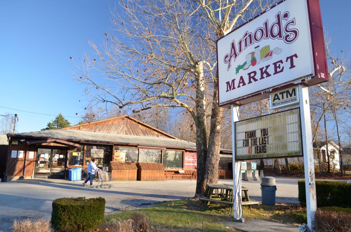 Arnold's Market closing
