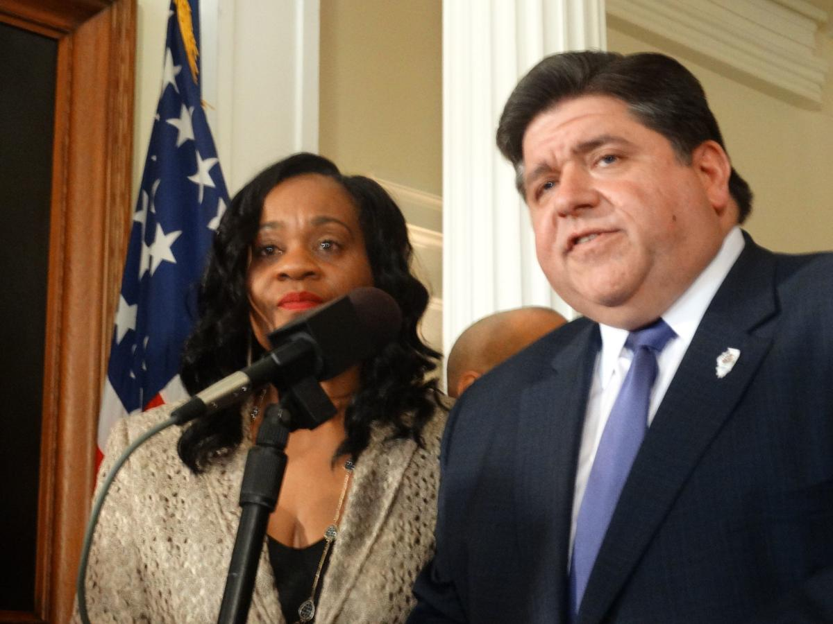 Pritzker talks guns