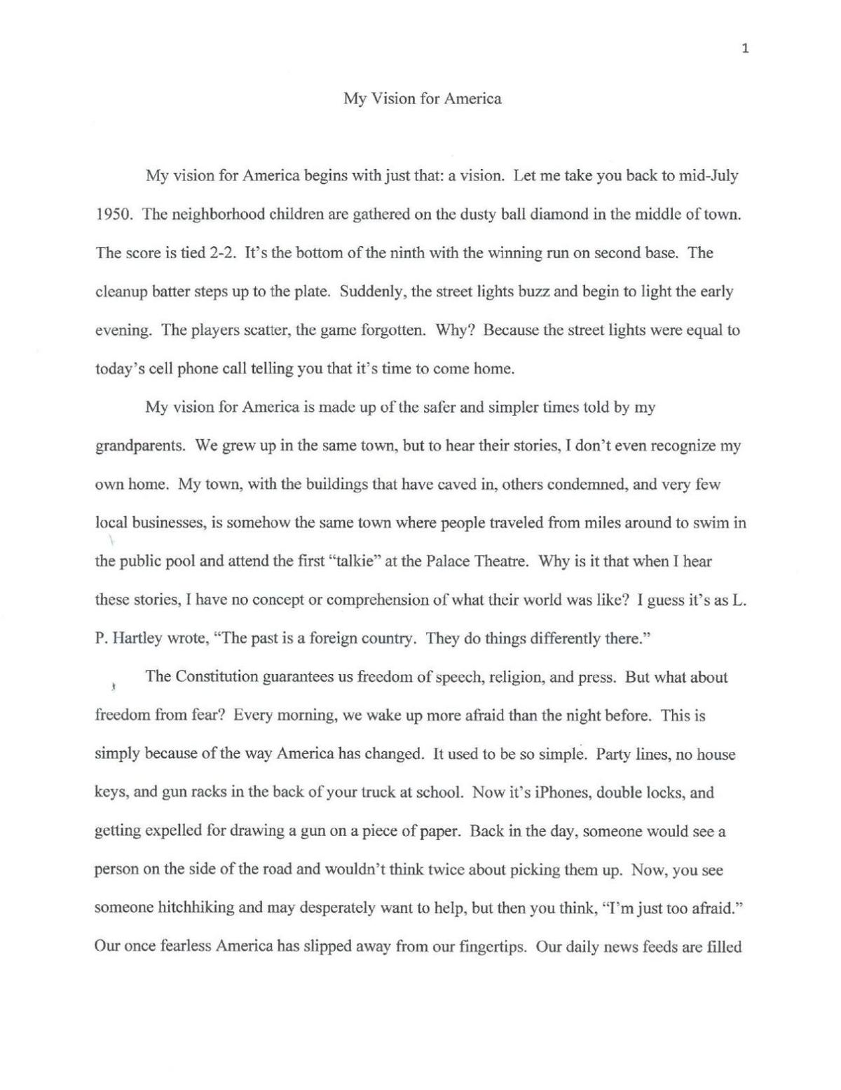 two voices essay Giving all the characters in a story a similar voice is usually unrealistic and uncanny some writers have problems with giving their characters distinct voices by keeping several factors in mind, character voices can be diversified  another possibility would be directly comparing two quotes (or two snippets of conversation) where the.
