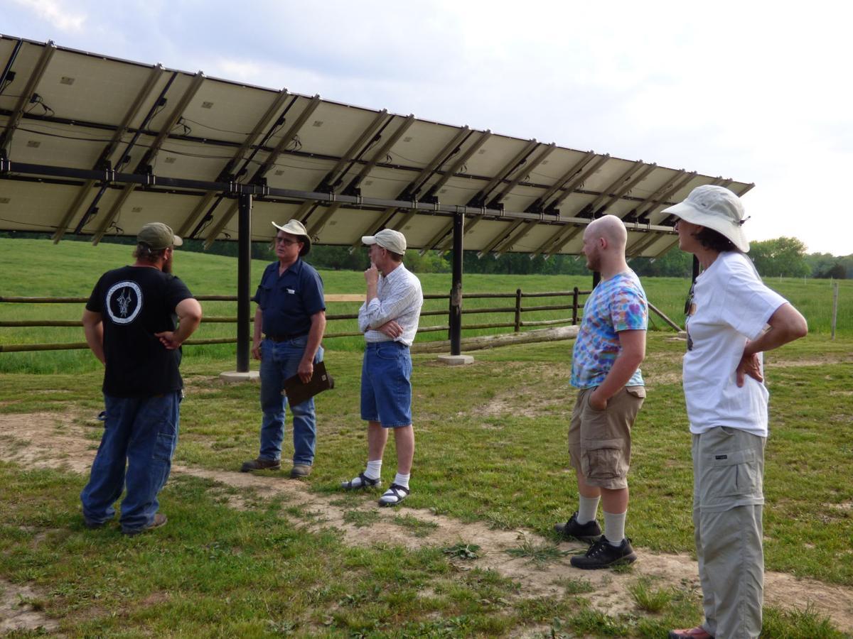 Jones farm solar installation 1