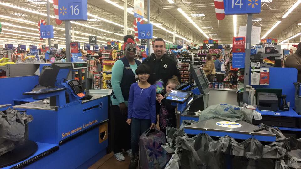 27th Annual Shop With A Hero Christmas gift program