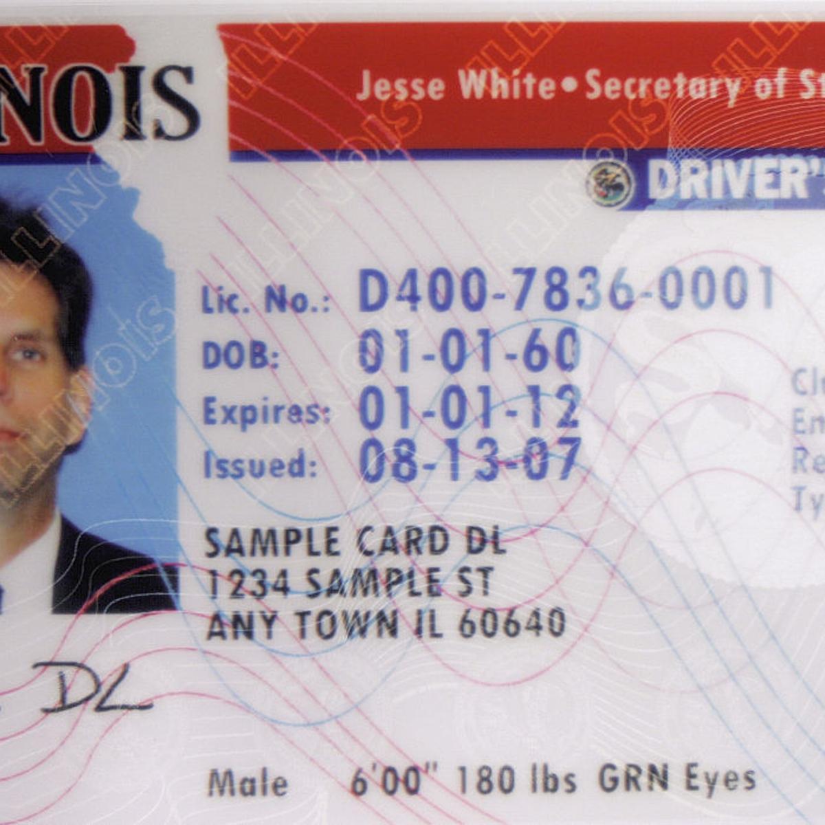 illinois drivers license renewal tsa