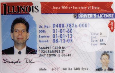 what documents do i need to renew my drivers license in illinois