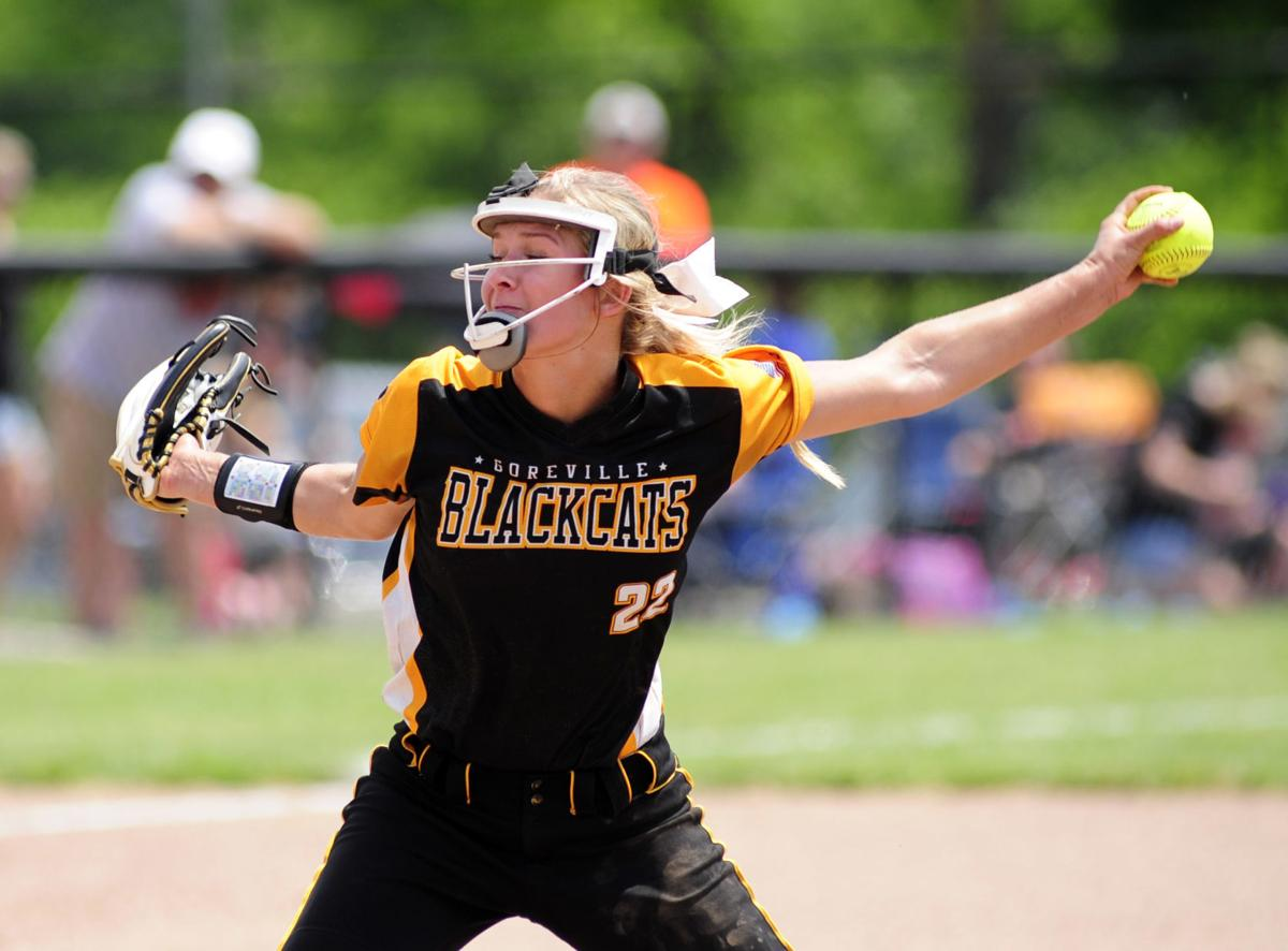 Goreville softball headed to state