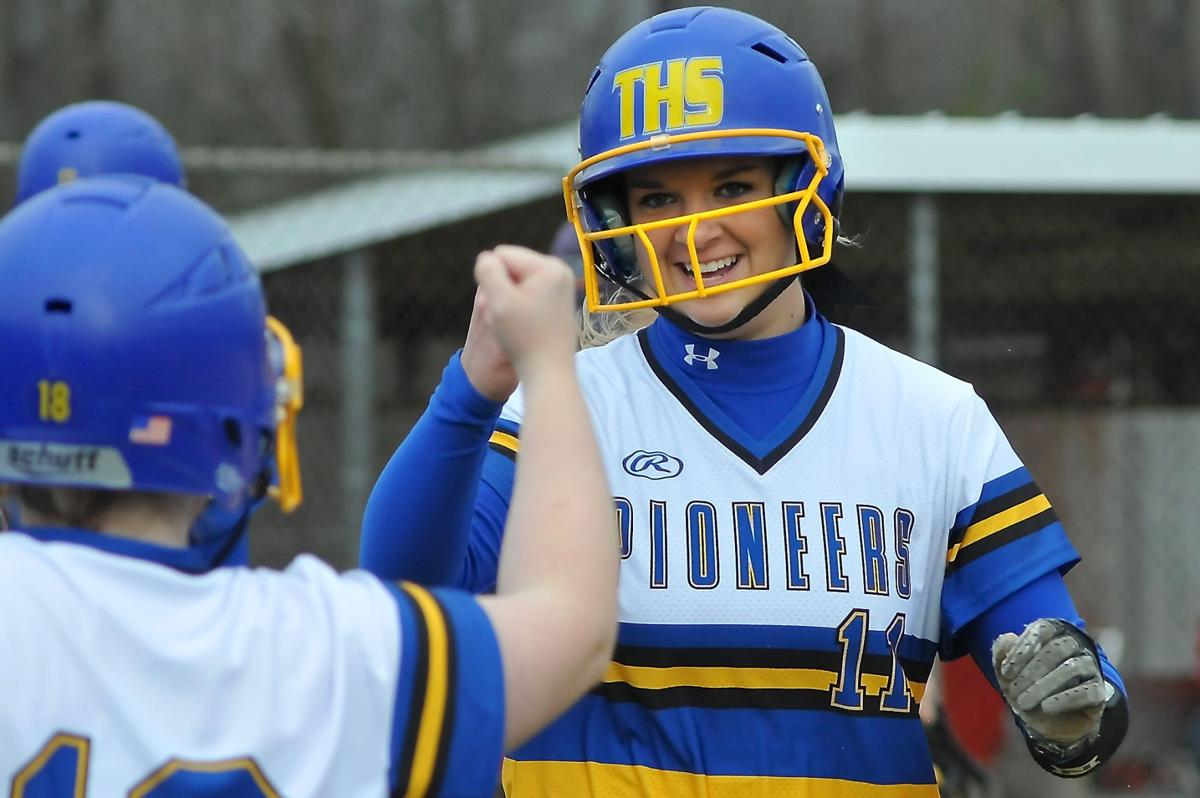 Trico Softball Defeats West Frankfort