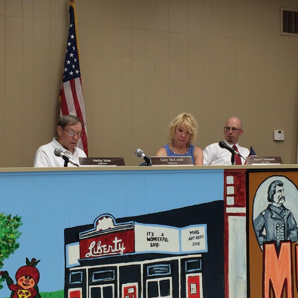 Murphysboro City Council meeting