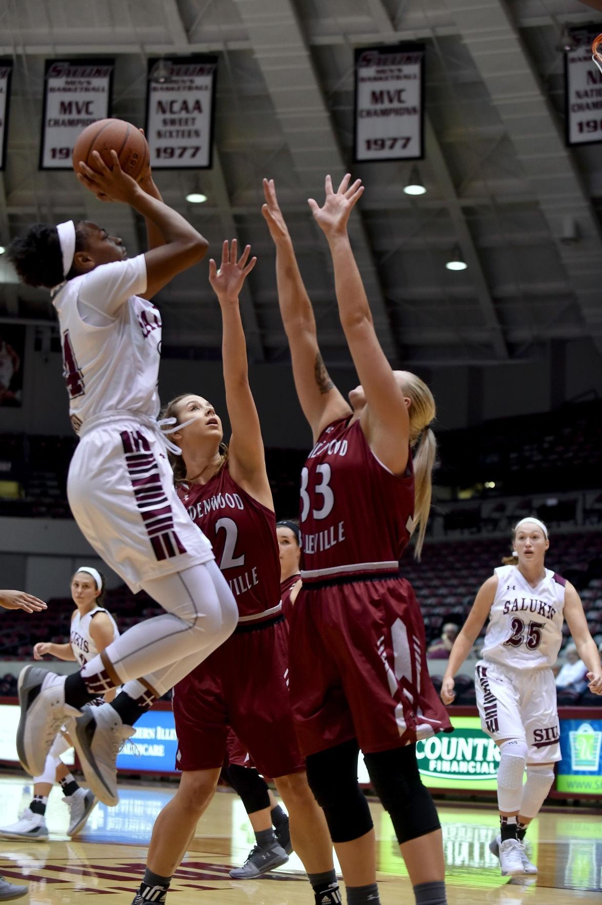 SIU Women's Basketball hosts Lindenwood-Belleville