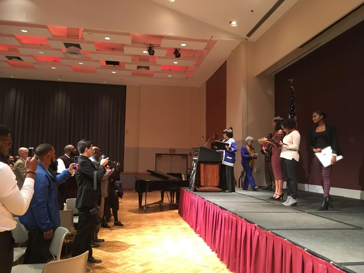 Cheerleaders honored at NAACP event