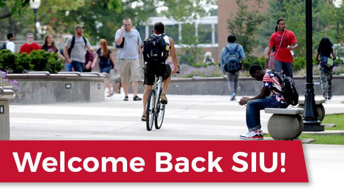 Welcome Back SIU! - Please turn images on
