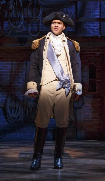 "Christopher Jackson in ""Hamilton"""