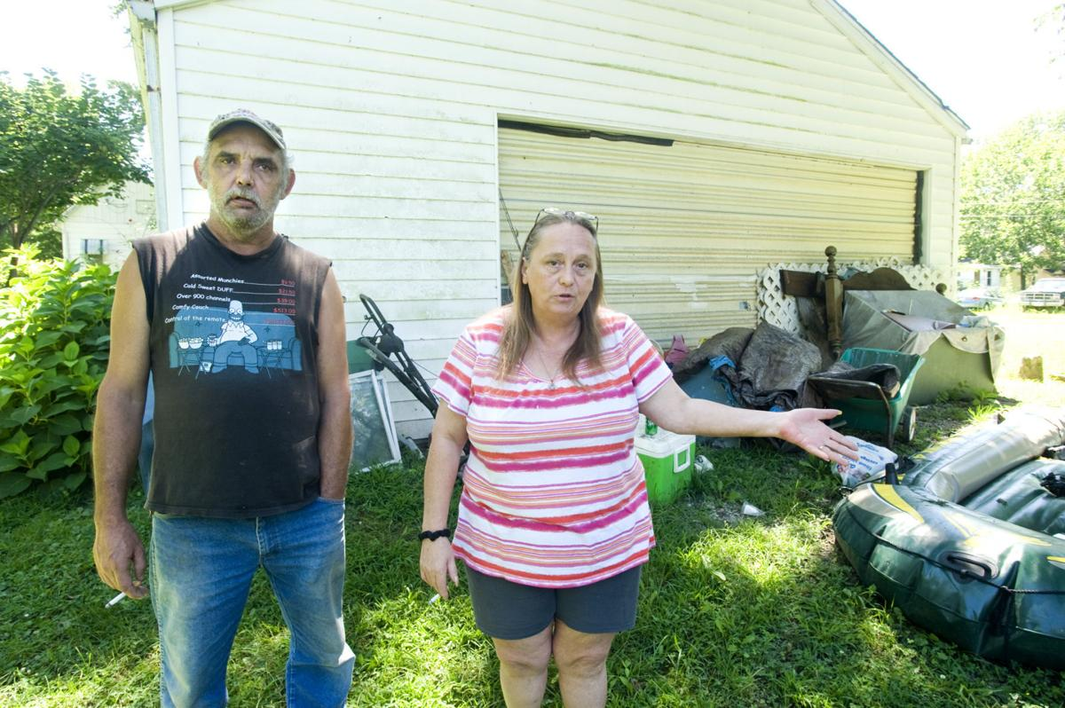 McLeansboro family has to leave garage that was home