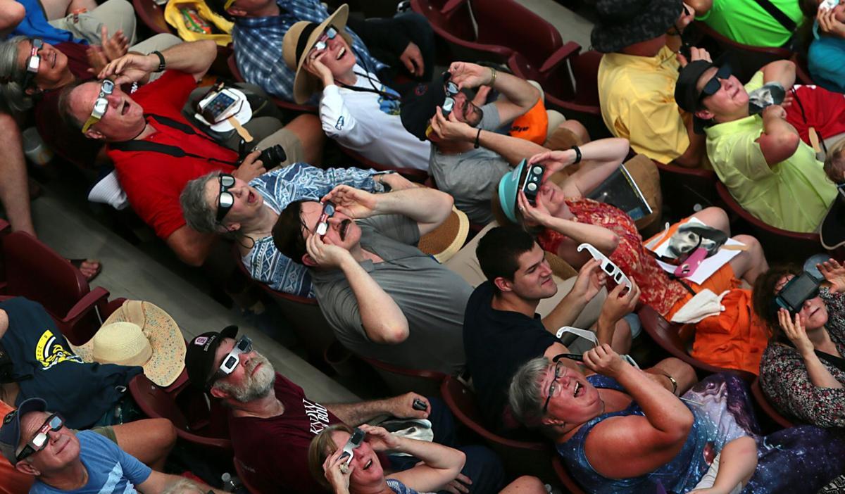 Saluki Stadium draws eclipse fans