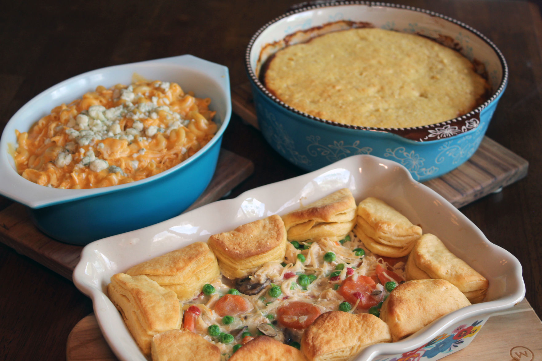 Taste | Casseroles: Combine meat, starch, vegetables, sauce