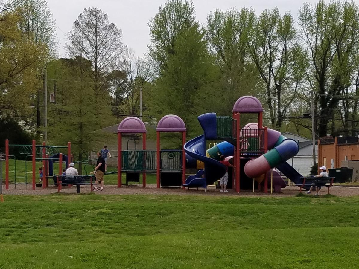 Children play at Turley Park