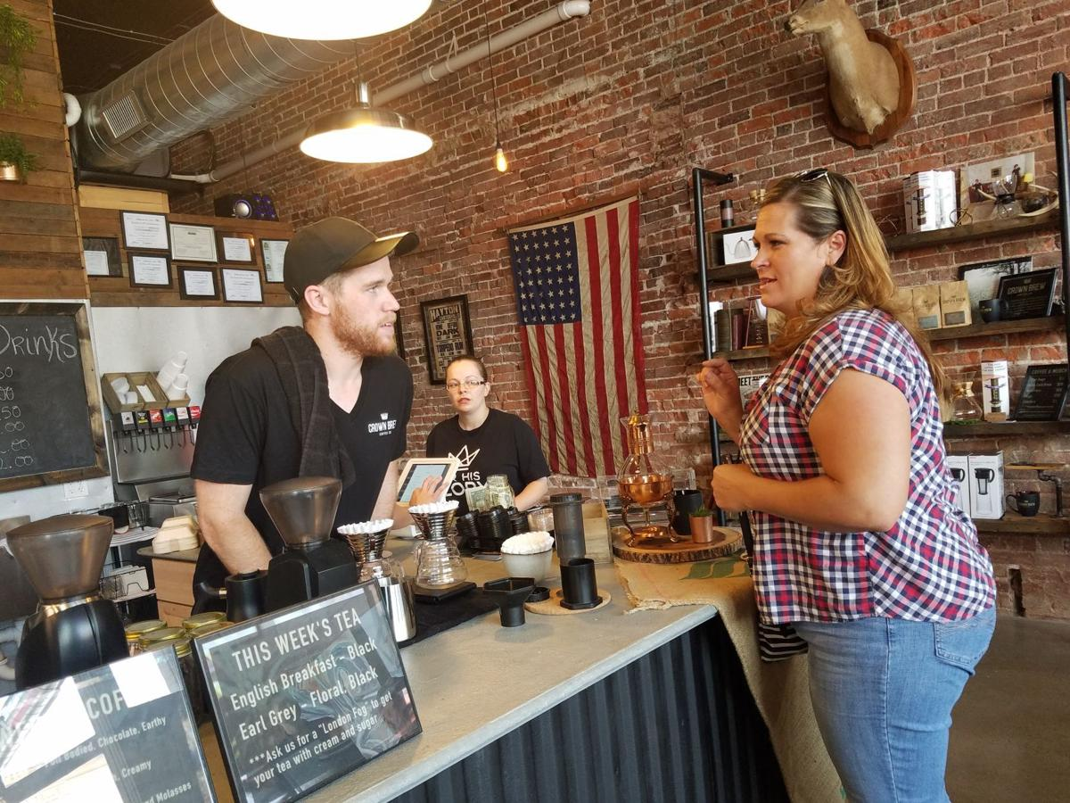 Crown Brew Coffee opening