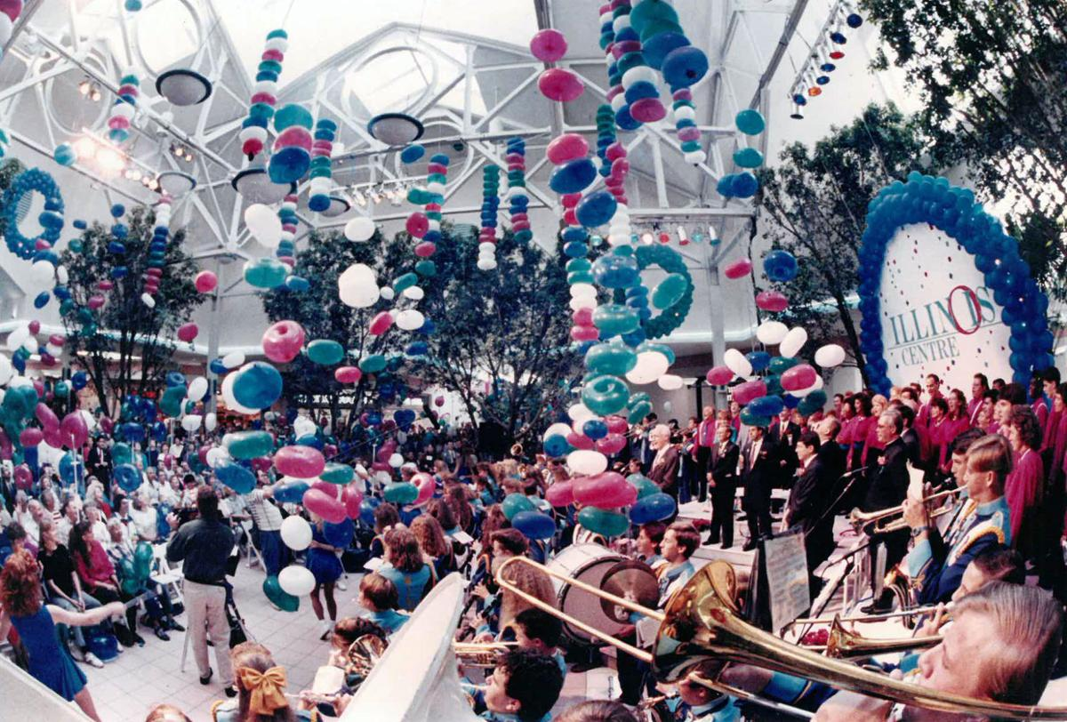 Marion mall opening