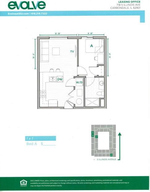 Evolve Carbondale Floor Plan Thesouthern Com