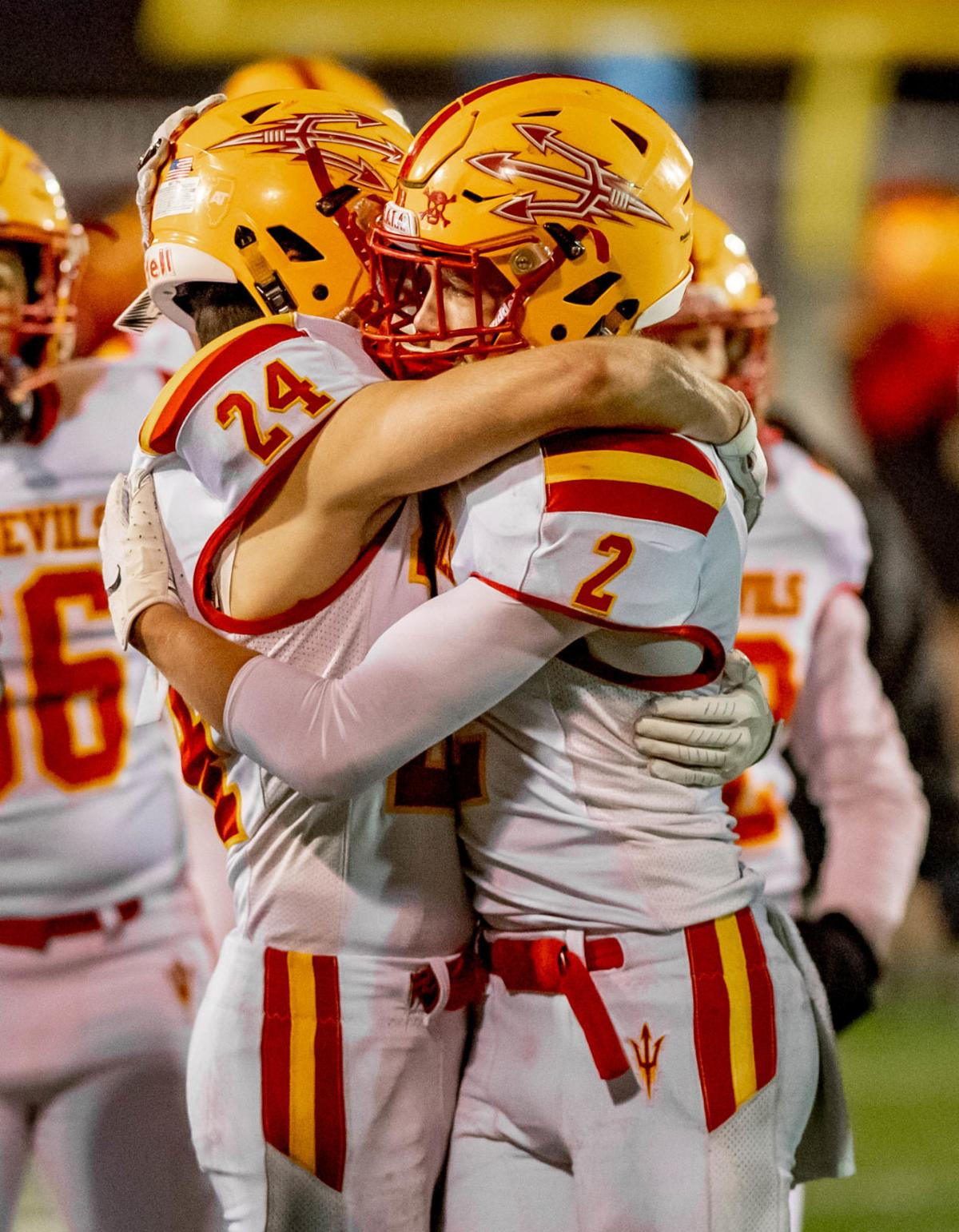 IHSA 4A Championship: Murphysboro Red Devils at Richmond-Burton Rockets