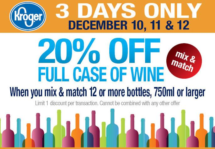 20% OFF Full Case of Wine! - Please turn images on