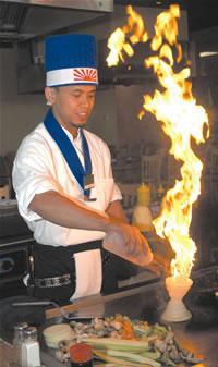 The art of the hibachi chef: Carbondale's Fujiyama Steakhouse a unique experience