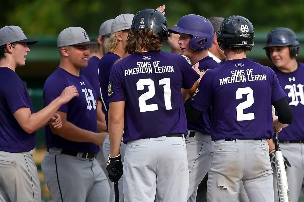 Harrisburg Holds On To Eliminate Sparta In Legion Baseball Tourney Baseball Thesouthern Com