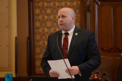 Senator indicted on 41 counts of embezzlement, false statements