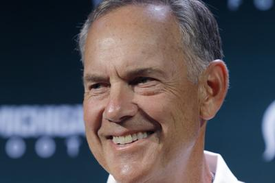 Michigan St Dantonio Record Football
